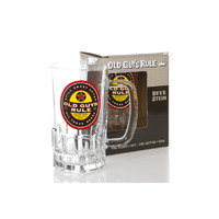 Beer Stein 'Beer Label' Glass