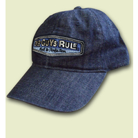 Rear View Cap denim blue