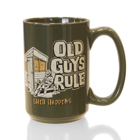 Shed Happens Man Mug