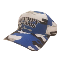 Grumpy is Good Camo Cap