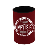 Grumpy Is Good Drink Holder Red