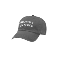 Grumpy Is Good Grey Baseball Cap