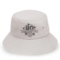 Bondi Icebergs 90th Logo Bucket Hat White
