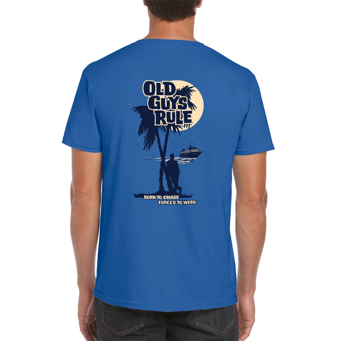 OGR Born To Cruise Royal Blue M